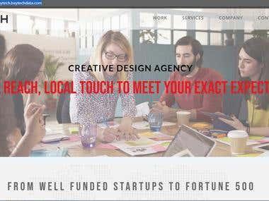 Design & developed on Wordpress