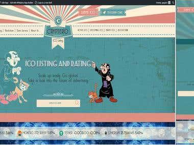 WordPress Cryptocurrency Website