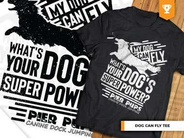 Dog Can Fly T-Shirt