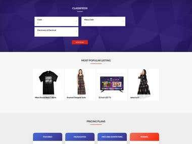 Multi vendor website