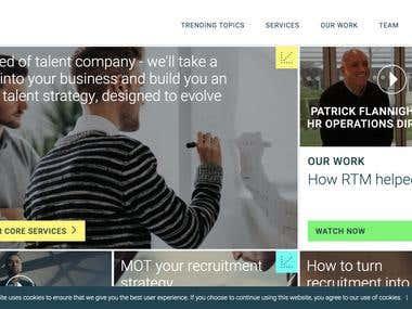 Modern Website Design for a Brand Strategist Company