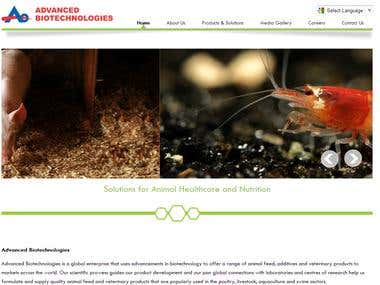 Advanced Biotechnologies Website