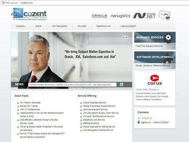 COMPANY NAME: COZENT