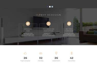 Website for Kitchen Designer