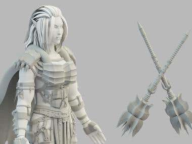 Warcraft Inspired Character (WIP)