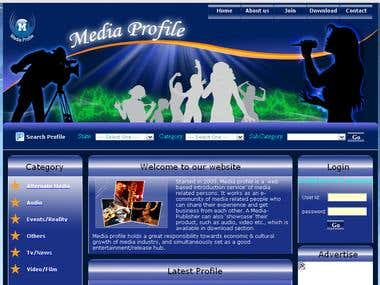 Media professional Network