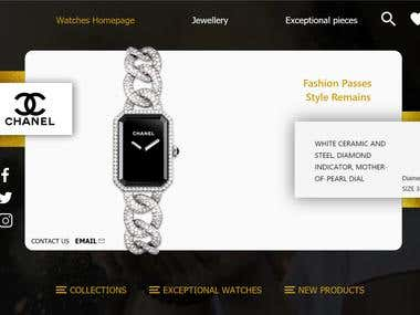 Watches Homepage , CHANEL