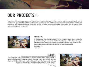 web designing