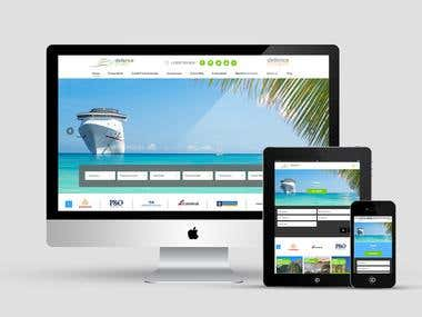 Defence Cruise Responsive Web Design