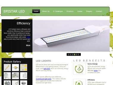 LED Website