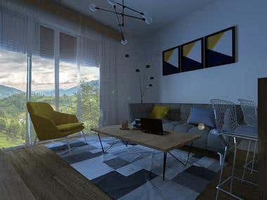 3Ds Max - Interior Design