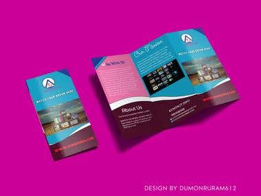 Modern eye catching brochure design