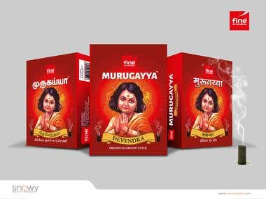 Fine Sambrani Package Design