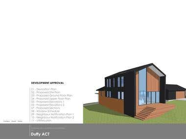 Alterations + additions to existing residence.