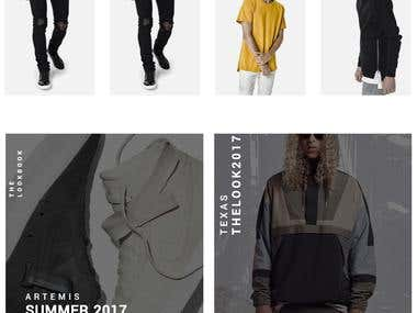 Clothing Custom Woocommerce Site