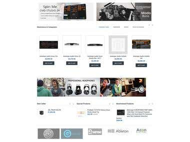 Elizondo Music - Website