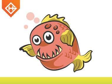 Piranha_Mascot