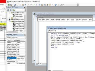 VBA coding - excel format