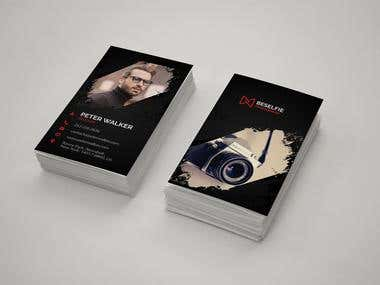 Business Card - Photography