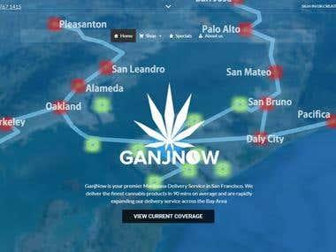 Wordpress WooCommerce Shop For Marijuana Business