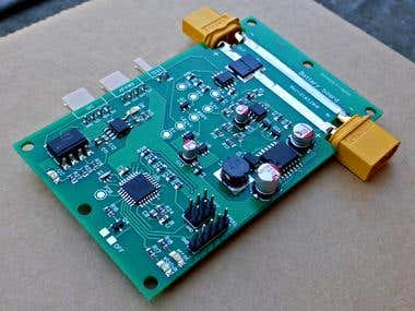 Battery monitoring board