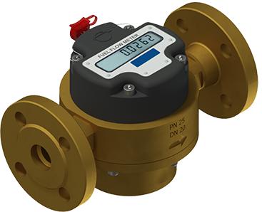 Digital fuel flow meter