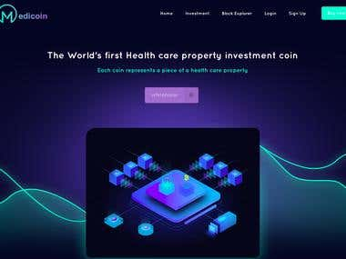 Medi coin Website