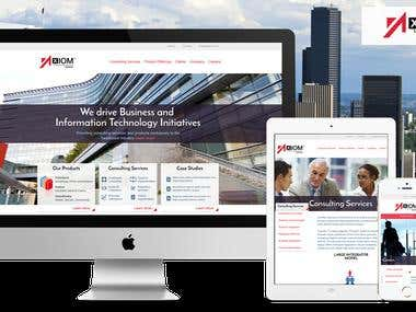 I will make wordpress or custom website for you.