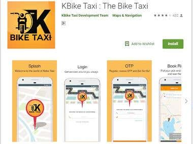 KBike Taxi : The Bike Taxi