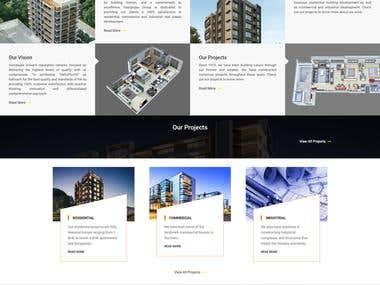 Real estate site using Wordpress