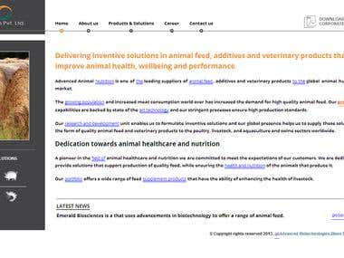 Animal Nutrition Website
