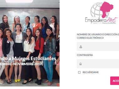 EmpoderaME - Wordpress INTRANET