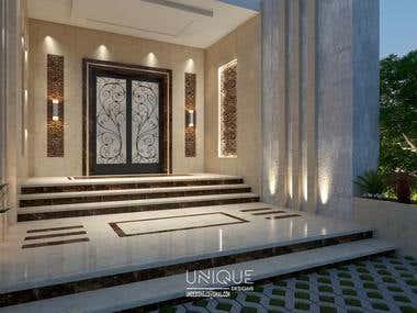 Design entrance