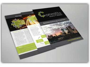 Brochure design and copywriting