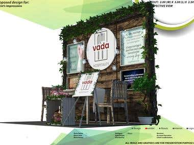 3D Exhibit Booths, Interior and Exterior Designs