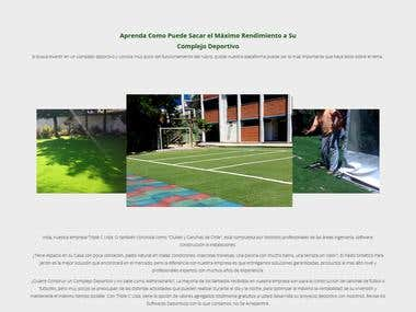 Website, Chile, Synthetic Grass Services