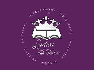 Logo design Ladies with wisdom