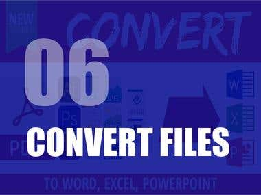 06 Convert files