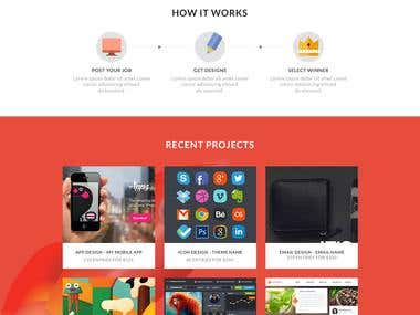Design for Freelancing website