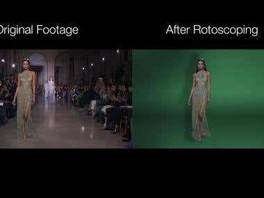 After Effects Rotoscoping