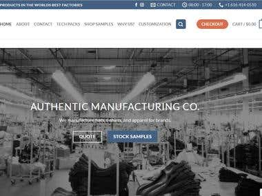AUTHENTIC MANUFACTURING CO