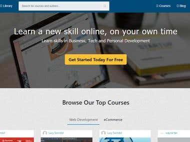 Online Education Platform Development (Udemy Clone)