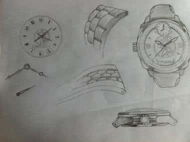 Man Watch Design