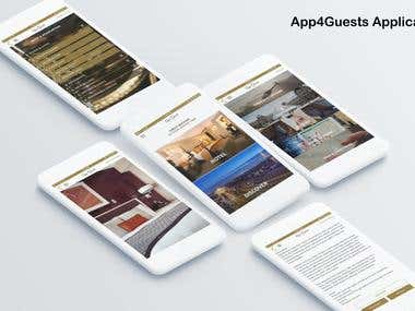 App4Guests | Mobile App | Hotel Application