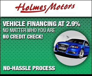 Banner add for Vehicle Finance