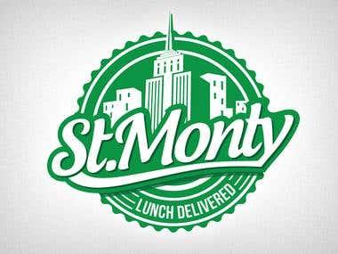 Logo Design for St Monty