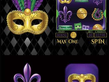 Mardi Gras Slot Machine