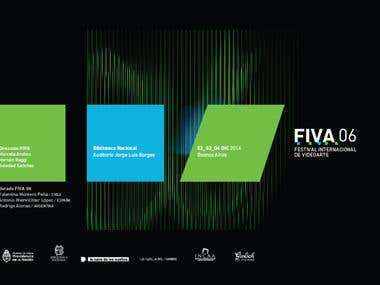 Branding design / International Videoart Festival / FIVA 6