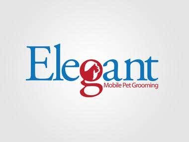 Logo Design for Elegant Mobile Grooming