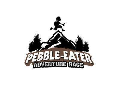 Kids Adventure Race - Pebble Eater logo